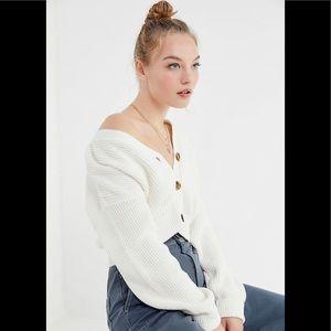 🆕🆕UO Waffle Knit Cropped Cardigan 🆕🆕